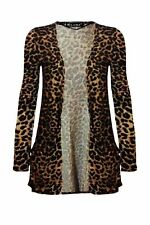 WOMENS LADIES LEOPARD PRINT SWING,CAMI,SHRUG,SKIRT,BODYSUIT,LEGGIN, DRESS 8 - 26