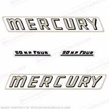 Mercury 1961 50hp Hors-Bord Décalque Kit - Reproduction Stickers en Stock !