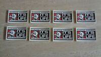 "Lot of 8 2000-01 Buffalo Sabres ""It's Our Way of Life"" Stickers - NHL Hockey"