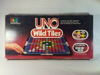 Vintage Uno Wild Tiles Board Game By International Games 1983 100% Complete
