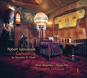 Woodcock - Robert Woodcock: Concertos For Recorder and Oboe [CD]