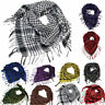 Mens Women Military Arab Tactical Desert Army Checked KeffIyeh Scarf Neck Wrap