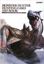 Monster Hunter Hunting Card Art Book Capcom japan