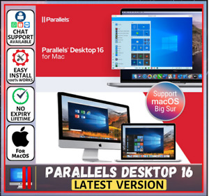 Parallels Desktop Business Edition 16.1.2 For Mac (Latest  2021) Support Big Sur