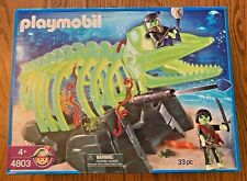 Playmobil 4803 Ghost Whale Skeleton Pirates 4803 Glow in the Dark MIB 2008