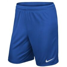 Nike Park II Knit Dri Fit Mens Adults Sports Football Gym Casual Shorts Blue