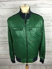 Men's GEOX RESPIRA Jacket-Medium-Verde-ottime condizioni