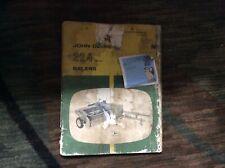 John Deere Used  224 Series Baler  Operators Manual