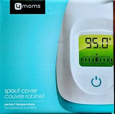 New 4Moms Perfect Temperature Spout Cover Led Digital Thermometer color coded