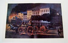 """John Cameron """"Life of a Fireman - The Metropolitan System"""" Art Print 11x16"""""""