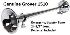 GENUINE Grover 1510 Emergency Stutter Tone Air Horn, Firetruck, Fire Engine, New