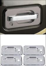 H2 Hummer SUV & SUT 2003-2010 Billet Chrome Door Handle Buckets  ( Set of 4 )