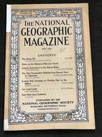 1910-05 MAY NATIONAL GEOGRAPHIC: AFRICA WILDS-ANDES RAILROAD-COAL-LANTERN FISH