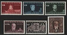 Liechtenstein 1940 - Mi-Nr. 186-191 ** - MNH - Fürst Johann II (V)