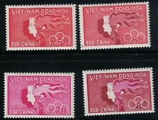 Vietnam Stamps 1961 SC# 162-5, Youth Day, MNH, EXC set