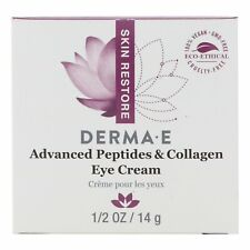 Derma E Advanced Peptides  Collagen Eye Cream  1 2 oz 14 g Cruelty-Free,