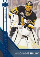 MARC-ANDRE FLEURY NO:151 OVERTIME BLUE in UPPER DECK OVERTIME 2016-17   a