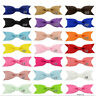 20 Pcs Baby Big Hair Bows Boutique Girls Alligator Clip Grosgrain Ribbon* q EO
