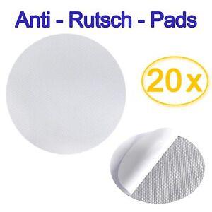 20x Anti Rutsch Pads Bad Badewanne Dusche RUND Aufkleber selbstklebend 10 x10 cm