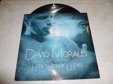 """David Morales con LEA-DONATI-come avrebbe U Feel - 2004 UK 2-TRACK 12"""" singolo"""