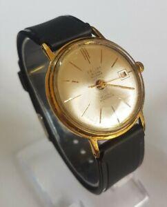 Beautiful Vintage Russian POLJOT De Luxe 29 Jewels Automatic Men's Watch