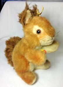 Vintage/Antique Steiff Squirrel with Tag named Ricky -Bought in Germany