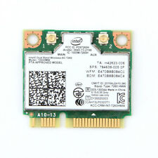 Wireless Intel 7260 7260HMW 867Mbps 2.4/5GHz+Bluetooth4.0 Mini PCI-E WiFi Card