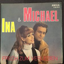 7'Ina Martell & Michael >Frech zum verlieben/Über weissen Wolken<   AMIGA  DDR