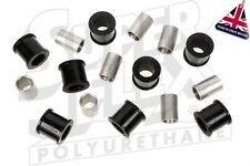 SUPERFLEX POLYURETHANE REAR SHOCK ABSORBER BUSH KIT - JAGUAR XJ,XJ6,XJ12,XJS