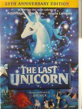 The Last Unicorn (DVD, 2007, Special 25th Anniversary Ed.)