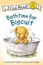 Bathtime for Biscuit (My First I Can Read), Capucilli, Alyssa Satin, New Book