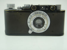 Leica II black/chrom Nr.252118 mit Chrom-Elmar 3,5/50