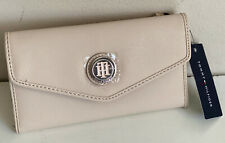NEW! TOMMY HILFIGER BLUSH PINK CONTINENTAL CHECKBOOK CLUTCH WALLET PURSE SALE