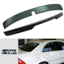 COMBO For Mercedes BenzW203 L ROOF + CARSON BOOT TRUNK SPOILER WING 07 C320 C240