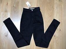 American Apparel Easy Jean Black Stretch Skinny- Size XXS - NWT