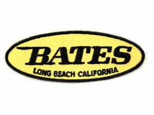 Vintage Bates Patch For Harley-Davidson Enthusiast