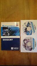 MSI 945GCM7 Multilingual Manual, Handbuch mit Treiber CD's