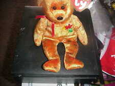 RETIRED TY BEANIE BEAR*KANATA**NORTHWESTTERRITORIES**B-DAY OCT  14, 2002