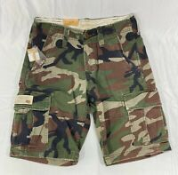 Ralph Lauren Denim & Supply Mens Camo Cargo Shorts Size 28