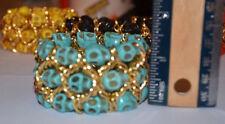 Alloy Cuff Stone Fashion Bracelets