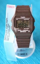 VINTAGE LOOK WATCH, TIMEX INDIGLO - Brown (Reloj, Marrón). BRAND NEW & BOXED!