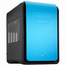 AEROCOOL DS CUBE WINDOW Blue Edition Mini Tower Computer Case - EMS Free