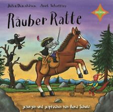 RÄUBER RATTE - DONALDSON,JULIA/SCHEFFLER,AXEL   CD NEU