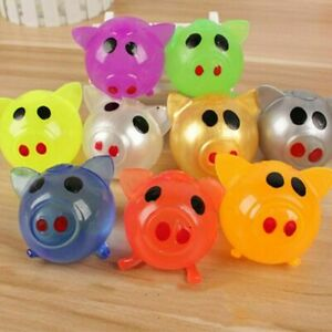 Venting Toy Pig Shape Splat Ball Decompression Game Variability And Recovery