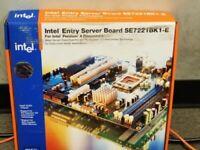 New SERVER BOARD INTEL SE7221BK1-E s.775 DDR2 PCIe x8 SATA VGA ATX C67508-407