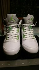 2011 Air Jordan V 5 Retro Quai 54 White Radiant Green 467827-105 Size 12 (4187)