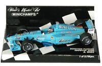 MINICHAMPS 430 000012 000081 000082 BENETTON F1 car Wurz Fisichella 2000 1:43rd