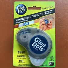 NEW Glue Dots Adhesive Advanced Strength Dispenser with Permanent Bond Dots