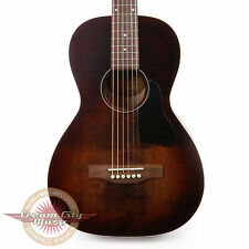 Brand New Art & Lutherie Roadhouse Parlor Acoustic Electric Guitar Bourbon Burst