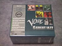 Verve 6 Great Jazz Esoteric SACD Hybrid Box Set 6 Discs ESSV-90163/68 w/Tracking